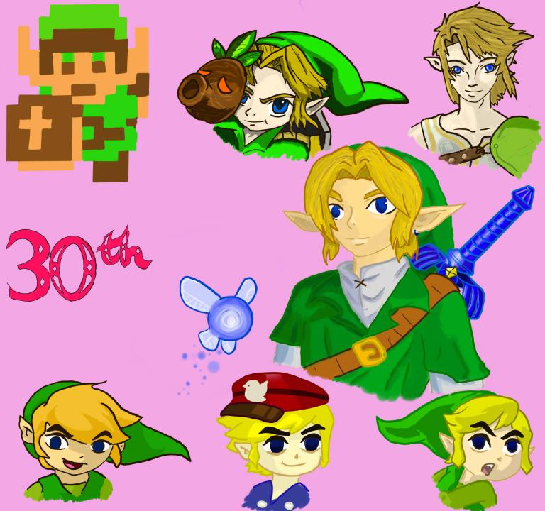 Legend of Zelda 30th B-day