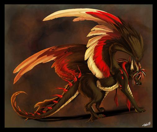 dragon wolf