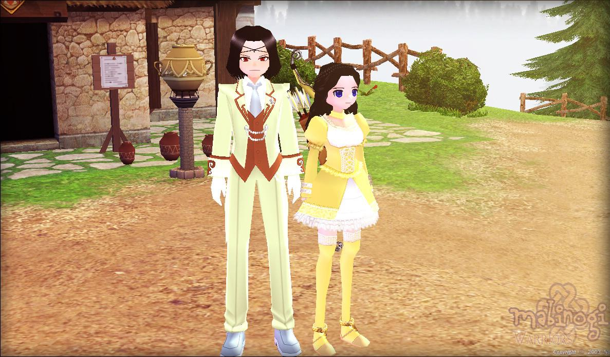 Mabinogi: Butler and his sister