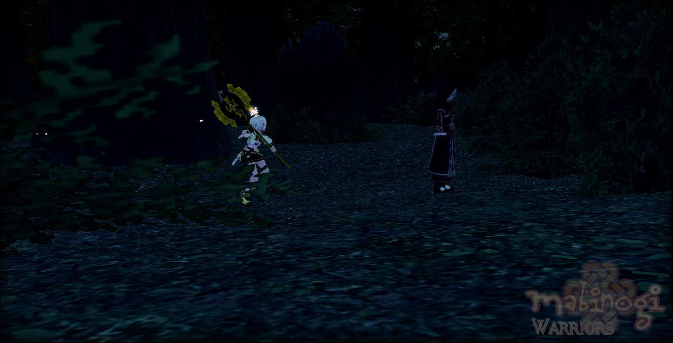 Mabinogi Iria Saga Episode Scene: Rosa Confronts the enemy
