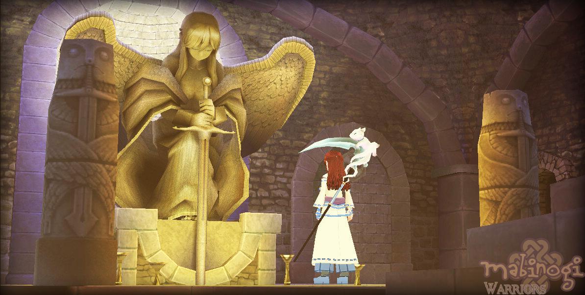 Mabinogi: Goddess Statue