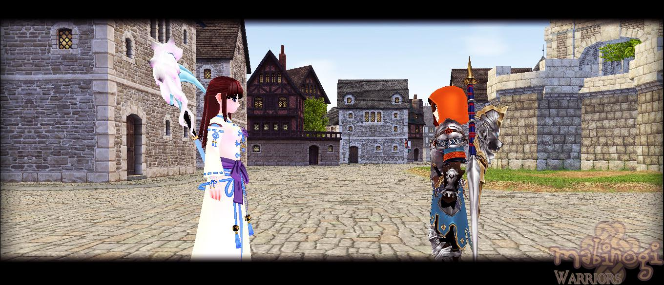 Mabinogi Paladin Quest Scene: Ninja meets the young Paladin
