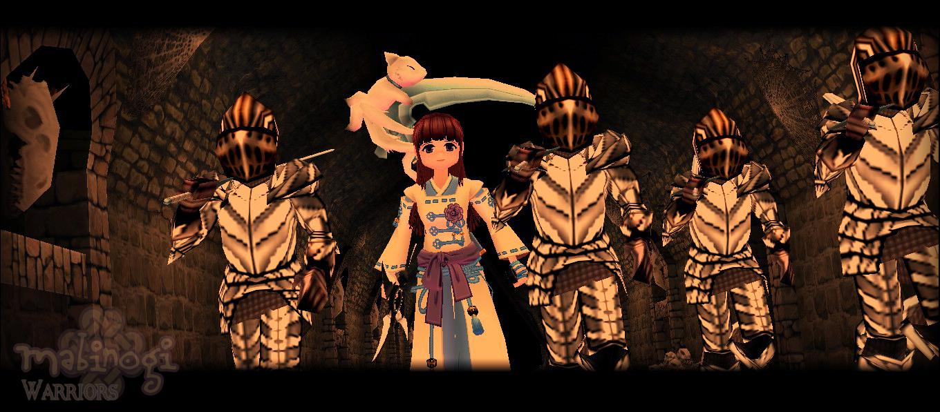 Mabinogi Paladin Quest Scene: After the Formor